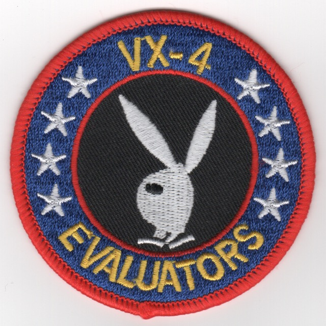 VX-4 Squadron Patch (Small)