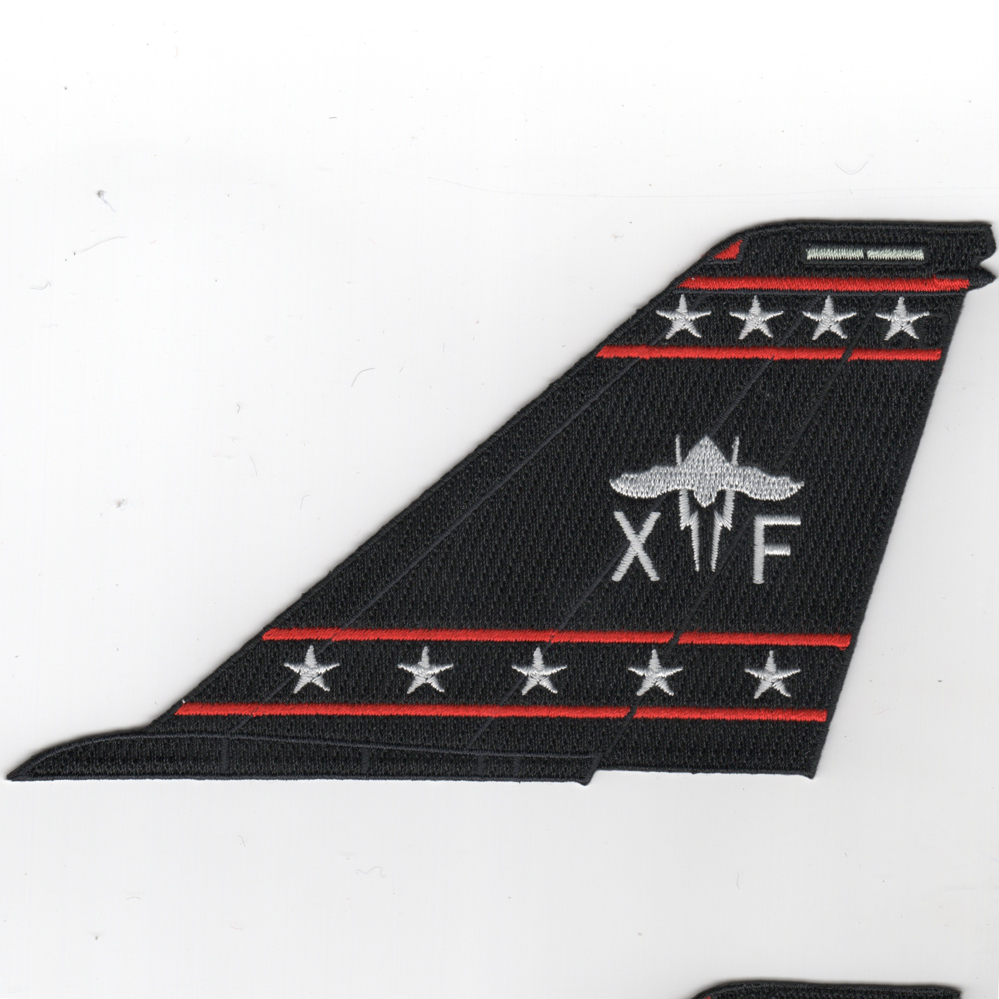 VX-9 'Bat' F-14 Tailfin (No Text/Blk)