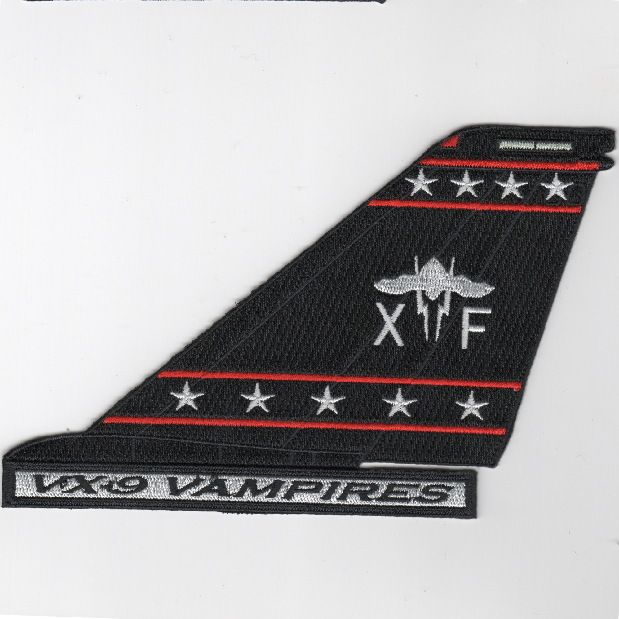 VX-9 'Bat' F-14 Tailfin (Text/Blk)