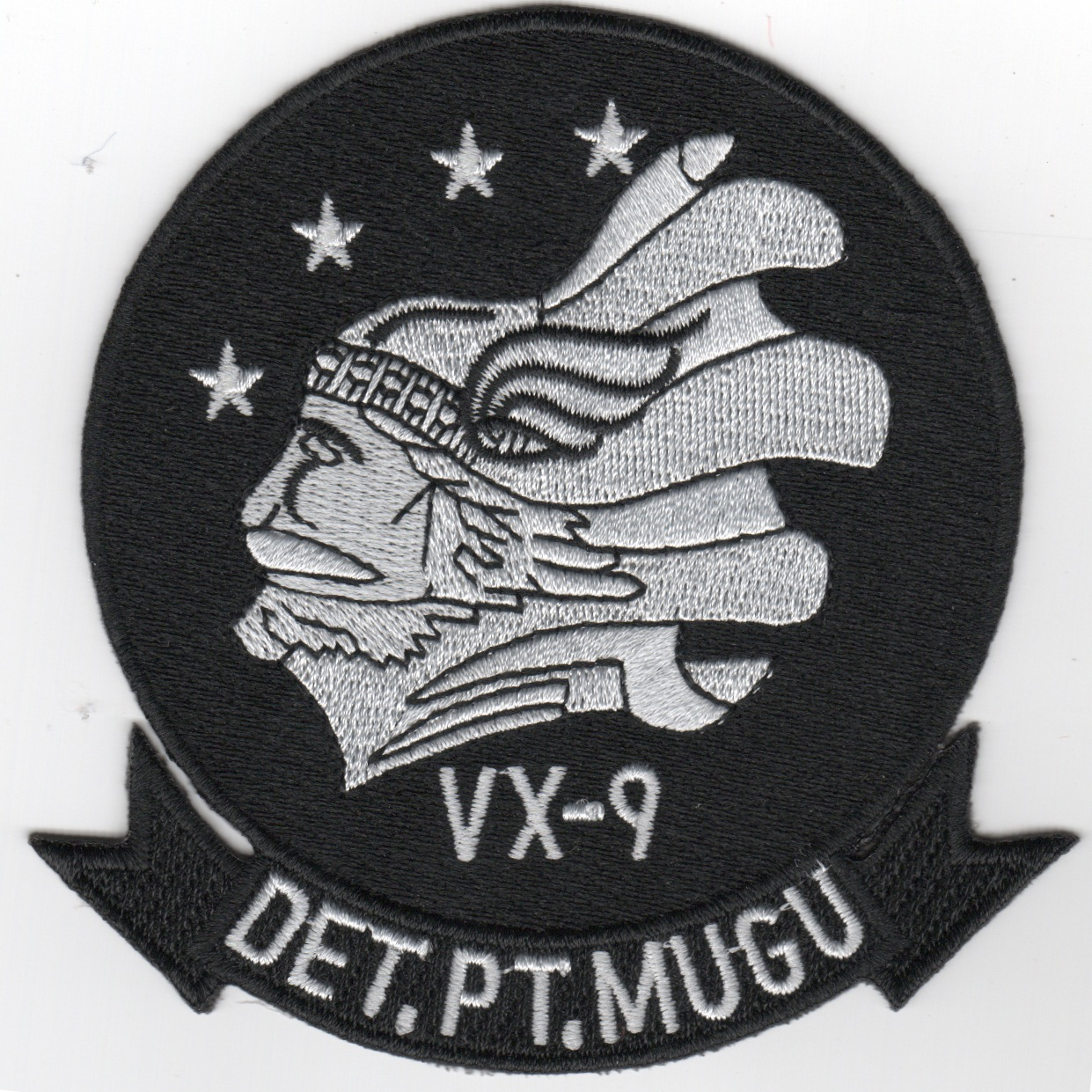 VX-9 'DET Pt. Mugu' Patch (Black)