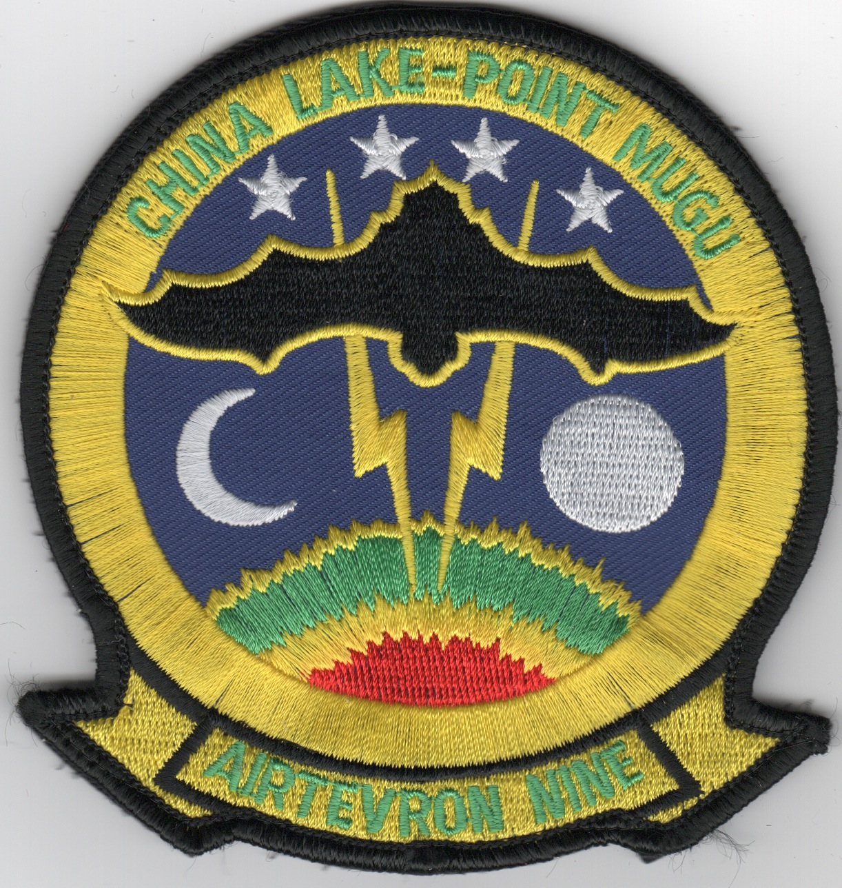 VX-9 Squadron Patch (Yellow)