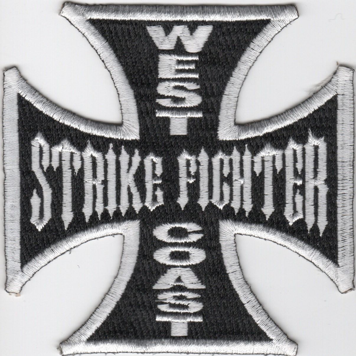 West Coast Strike Fighter Maltese Cross (Black)