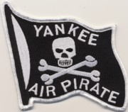 Yankee Air Pirate (Black/Sml/No V)